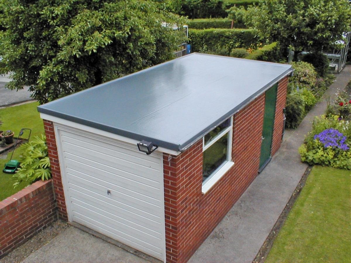 Крышу на гараж своими руками фото
